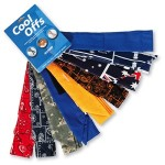 12307 CHILL-ITS 6700 EVAPORATIVE COOLING BANDANA/NECK TIE