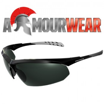 ARMOURWEAR ROCKER 28414 POLARISED SMOKE LENS GREY SIDEARM