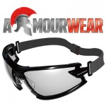 ARMOURWEAR RAPPER 19405SF CLEAR LENS A/F GOGGLE FOAM AND STRAP