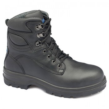 BLUNDSTONE B142 BLK LACE UP BOOT