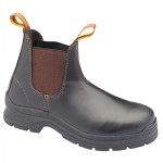 BLUNDSTONE B311 ELASTIC BOOT BROWN