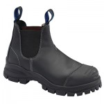 BLUNDSTONE B990 E/SIDED BOOT WITH BUMP CAP BLACK