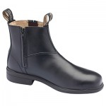 BLUNDSTONE B783 BLACK EXECUTIVE SAFETY ANKLE ZIP SIDE BOOT