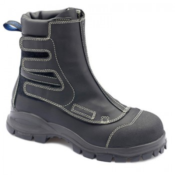 BLUNDSTONE B981 FLAME RETARDANT SMELTER BOOT BLACK