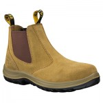 OLIVER 34-624 ELASTIC SIDED FAWN SUEDE BOOT