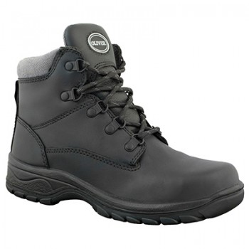 OLIVER 49-445 LACE UP BLACK LEATHER BOOT