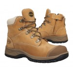 OLIVER 49-432Z LACE UP NUBUCK W/ZIP WHEAT LEATHER BOOT