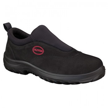 OLIVER 34-610 BLK SLIP ON SPORTS SHOE