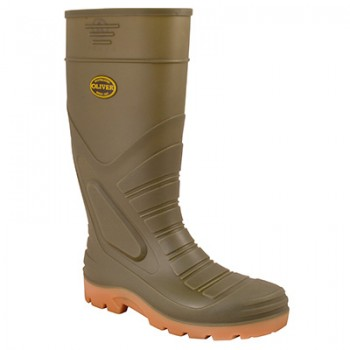 OLIVER 22-205 GUMBOOT STEEL TOE AND MIDSOLE