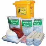 Global Spill Control Oil & Fuel Bin Spill Kit