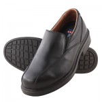 STEEL BLUE 316110 BUSSELTON EXEC SLIP ON BLACK SHOE