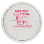 7960A MOLDEX P2/P3 FILTER DISK WITH NUIS ORG VAPOUR PK=2